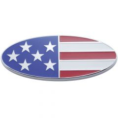 "8"" USA Flag Emblem Screw Mount"