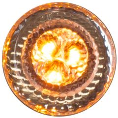 """2"""" Amber/Clear 3 LED Fusion Marker Light"""