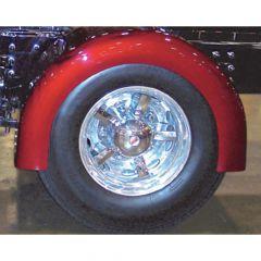 Fiberglass Standard Single Axle Rear Fenders