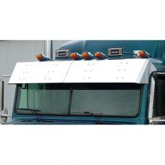 """Freightliner Classic, FLD 10"""" Visor (1995-2007)"""