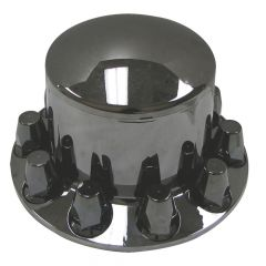 Gun Metal Rear Axle Cover with 33mm Nut Covers