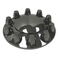 Gun Metal Front Axle Cover with 33mm Nut Covers