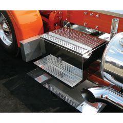 "Peterbilt 30""L Stainless Steel Frame Tool Box"