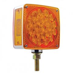 45 LED Amber & Red Double Face Turn Signal Light