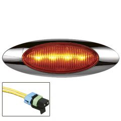 Millenium 1 Amber LED Light with Packard Plug