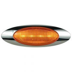 "6-5/8"" 4 LED Millenium 1 Marker Light with Packard Plug"