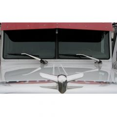 Peterbilt Stainless Windshield Wiper Arm Covers