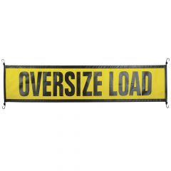 "14"" x 60"" Mesh Escort Vehicle Oversize Load Sign"