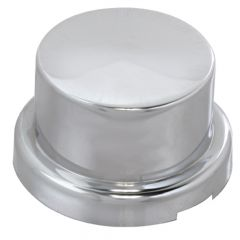 """7/8"""" or 15/16"""" Chrome Top Hat Nut Cover - Push On"""