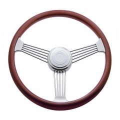 3 Spoke Banjo Steering Wheel 18""