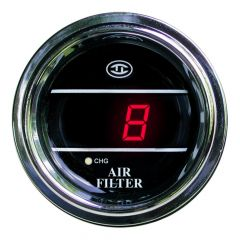 Air Filter Monitor Gauge Red