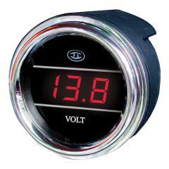 Voltmeter Gauge Red