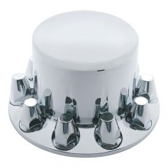 Rear Chrome Axle Cover with 33mm Nut Covers