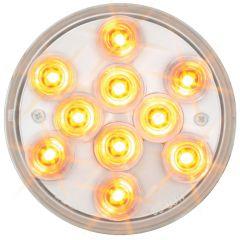 """4"""" Mega 10 Plus Amber/Clear LED Light"""