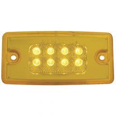Freightliner LED Cab Light 8 Diodes Amber/Amber