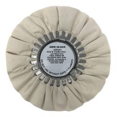 """Zephyr 8"""" White Untreated Buffing Wheel"""