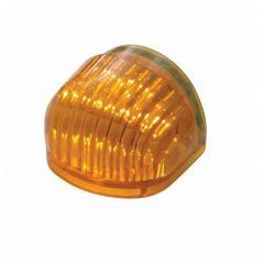 Dual Function Headlight Turn Signal Light - Amber LED/Amber Lens w/ 5 LED