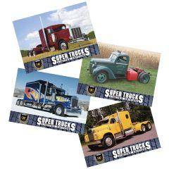Series 9 CAT Scale Super Trucks Card Set