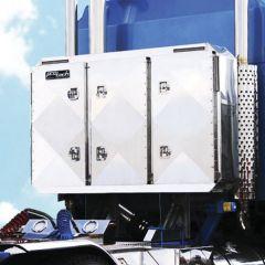 """68""""H x 80""""W Smooth Aluminum Enclosed Cab Rack"""