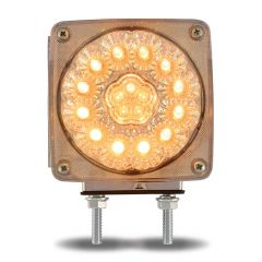 """4"""" Square Super Diode Double Face LED Light1"""