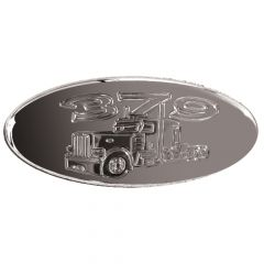 Peterbilt 379 Emblem Chromed Billet Aluminum