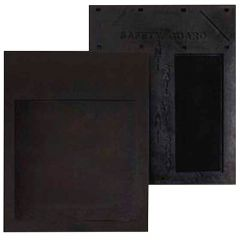 """24"""" x 24"""" Safety Guard Black Rubber Mud Flap (EA)"""