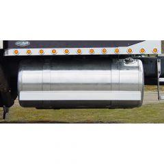 """Peterbilt 61.5"""" Stainless Fuel Tank Fairings (PR)"""