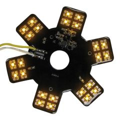 """5-1/8"""" 24 LED Star Light for 13"""" Air Cleaner"""