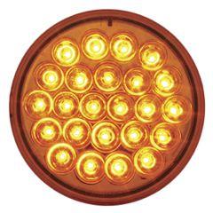 """4"""" 24 LED Pearl Strobe Light"""