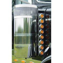 "Peterbilt 15"" Premium Donaldson Front Air Cleaner LED Light Bars"