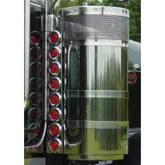 "Peterbilt 15"" Premium Donaldson Rear Air Cleaner Light Bars"