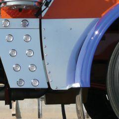 Peterbilt 389 Lower Hood Extension Panels PR