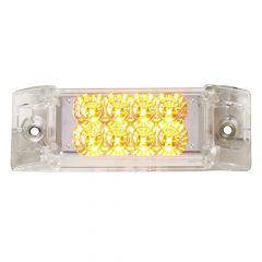 """6"""" x 2"""" 8 LED Super 21 Rectangular Marker Light"""
