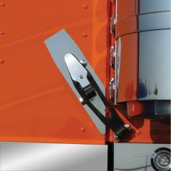 Peterbilt 388 Stainless Steel Hood Strap Trim