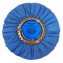 "Zephyr 8"" Blue Baron Clear Dip Buffing Wheel"