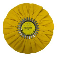 "Zephyr 10"" Yellow Mill Treated Buffing Wheel"