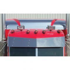 "Peterbilt 70"" UltraCab Sleeper Cap Roof Side Trim"