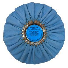 "Zephyr 10"" Blue Baron Clear Dip Buffing Wheel"