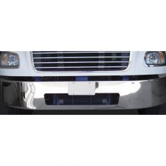 "Freightliner M2 13"" Set Back Chrome Bumper"