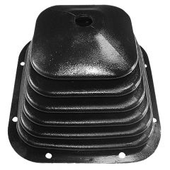 """Kenworth 1995+ 7-3/4"""" Square Rubber Shifter Boot"""