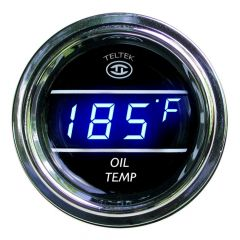Oil Temperature Gauge Blue