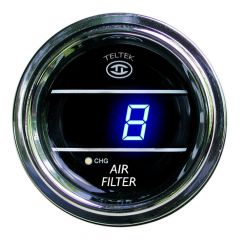 Air Filter Monitor Gauge Blue