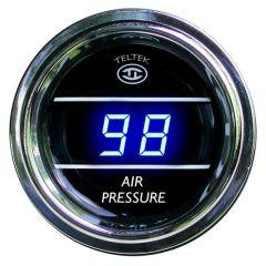 Air Pressure Gauge (0-100) Blue