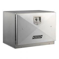"""24""""L x 18""""H x 18""""D Aluminum Box with Single Door"""