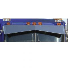 Kenworth W900L, T800, T600 Boltless Bow Tie Visor