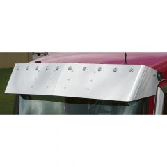"Kenworth 13"" Visor w/10 Bullseye Lights & Bezels"