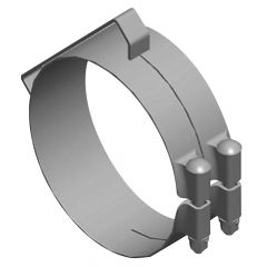 """Freightliner Classic 6"""" Chrome Clamp"""