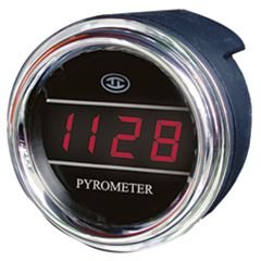 Small Pyrometer Gauge for Peterbilt and Kenworth 2006 and newer