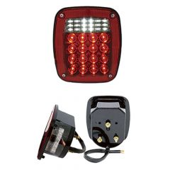 Universal Combo LED Light with License LED