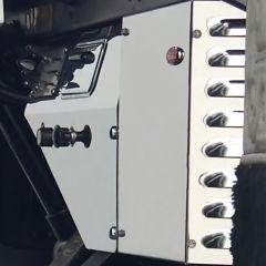 Peterbilt Heater Control Trim Panel without Indicator Cutout